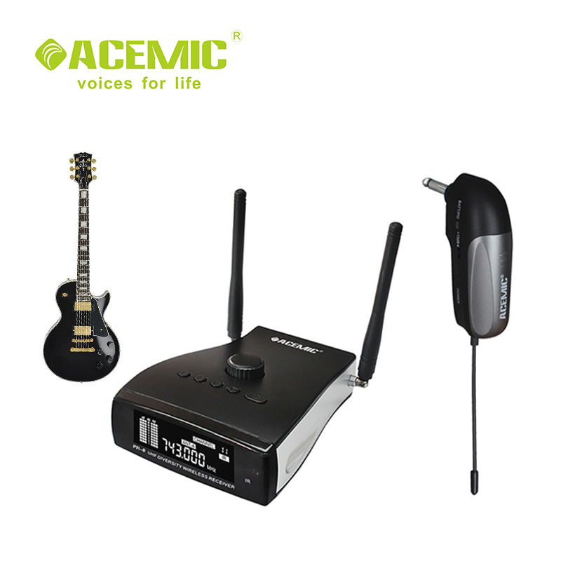 new acemic pr 8 gt 2 gt 1 stage diversity wireless electric guitar bass piano drums cello. Black Bedroom Furniture Sets. Home Design Ideas