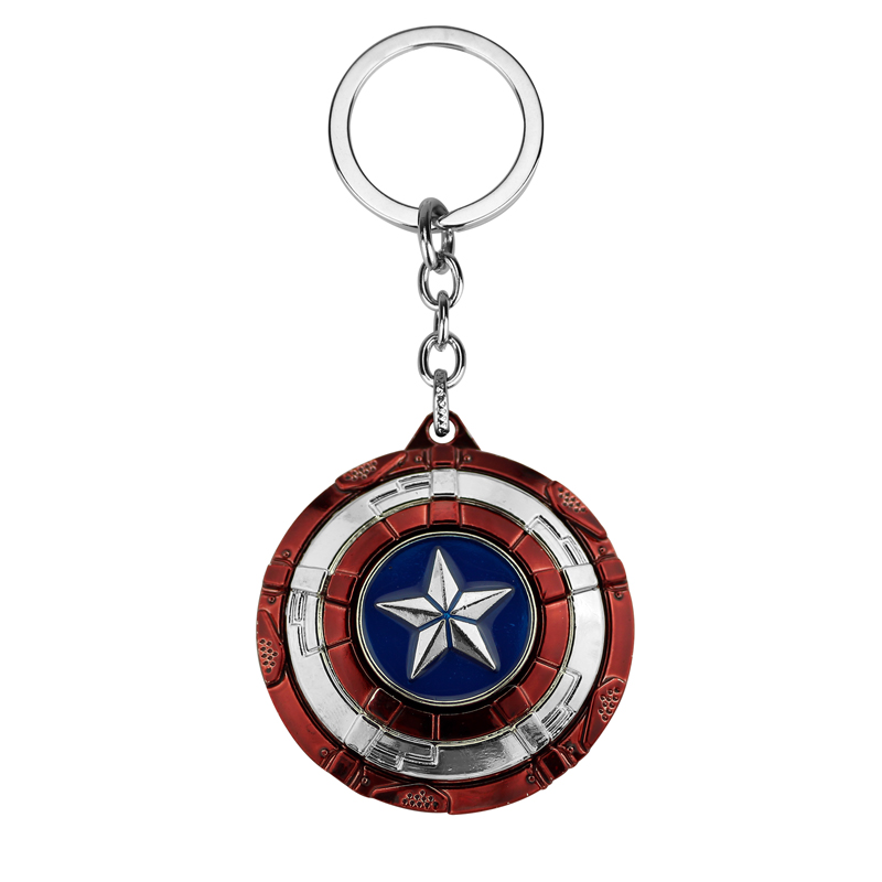 Movie Key Chain Avengers Infinity War Captain America New Shield Keychain Keyring Keychains For Men Boy Llaveros Mujer Gift