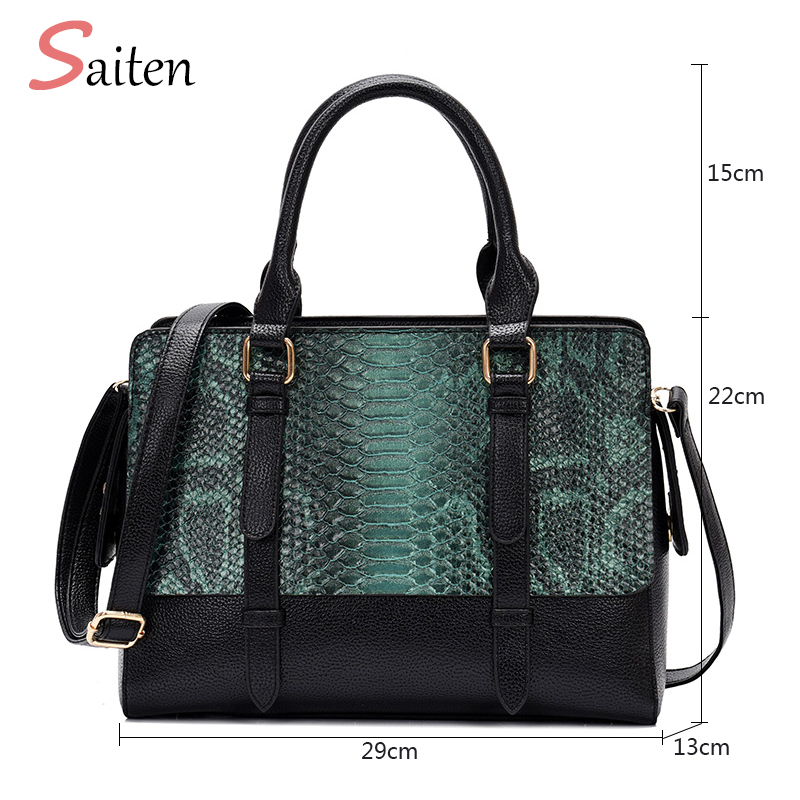 New Arrivals Crocodile Leather Handbags Women Casual Tote Bags High Quality PU Female Shoulder Bag Large Capacity Ladies HandBag