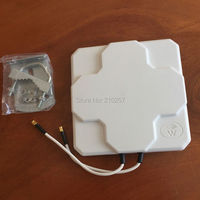 1pcs 18dbi 4G LTE Panel Flat Outdoor Antenna For Network Wireless Router Sma Male PLug