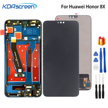 For Huawei Honor 8X LCD Display Touch Screen Digitizer JSN-L21 JSN-AL00 JSN-L22 With Frame