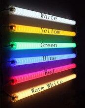 (20pcs/lot)LED Neon bar 0.5m AC220V LED Digital Tube/LED tube rgb color waterproof outside colorful tubes building decoration