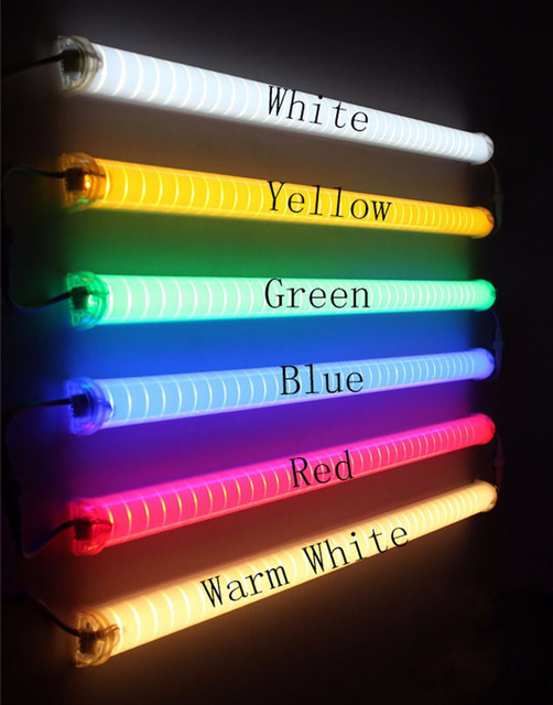 20pcs lot led neon bar ac220v led digital tube led tube rgb color waterproof outside. Black Bedroom Furniture Sets. Home Design Ideas