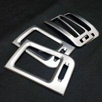 Для Nissan X-Trail XTrail X Trail T31 2008-2012 2013 ABS матовый передний Кондиционер AC Vent Outlet Cover автомобильный Стайлинг аксессуар