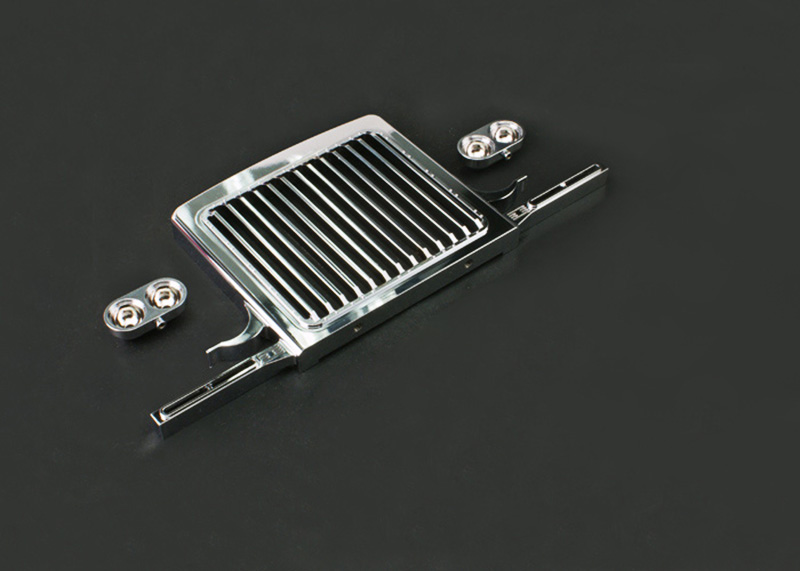LESU Metal Front Net Bumper for Tmy King RC 1/14 Tractor Truck Car DIY TH02305|RC Trucks| |  - title=