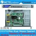 1U Корпус 1037U Мульти Gigabit Сетевой Брандмауэр Сервер с Intel PCI E 1000 М 6*82583 В IN-RC6