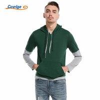 Covrlge 2018 Hoodies Men Male Hip Hop Long Sleeve Casual Solid Color Hooded Sweatshirt Mens Hoodie
