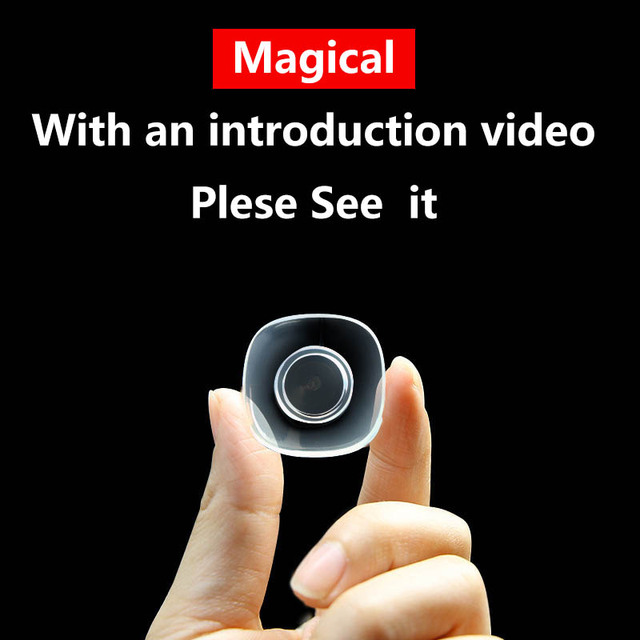 Etiqueta criativa mágica do telefone do silicone da etiqueta do carro titular universal casa fundamentos da vida, vem com um vídeo da introdução