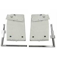 DIY Heavy Duty Мерфи стены кровать Аппаратные средства комплект для вертикальной и сбоку настенное крепление раза Подпушка кровать механизм HM118