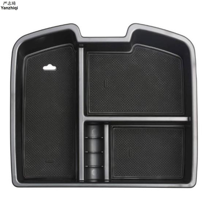 for Chevrolet Avalanche Chevy Suburban Tahoe Silverado for GMC Armrest Storage Center Console Organizer Glove Tray Holder Box