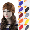 Bluelans Fashion Unisex Style Stretchable Turban Hat Hair Head  Cap Head