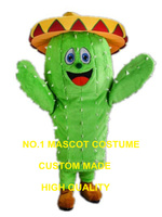 Cactus Mascot Costume adult size high quality prickly pear Cactus theme anime cosplay costumes carnival fancy dress kits 2983