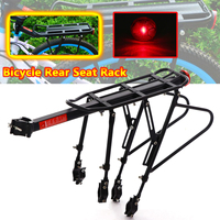 Bicycle MTB Bike Rear Rack Reflector Seat Post Mount Pannier Luggage Carrier Shelf Bracket 50kg Quick release