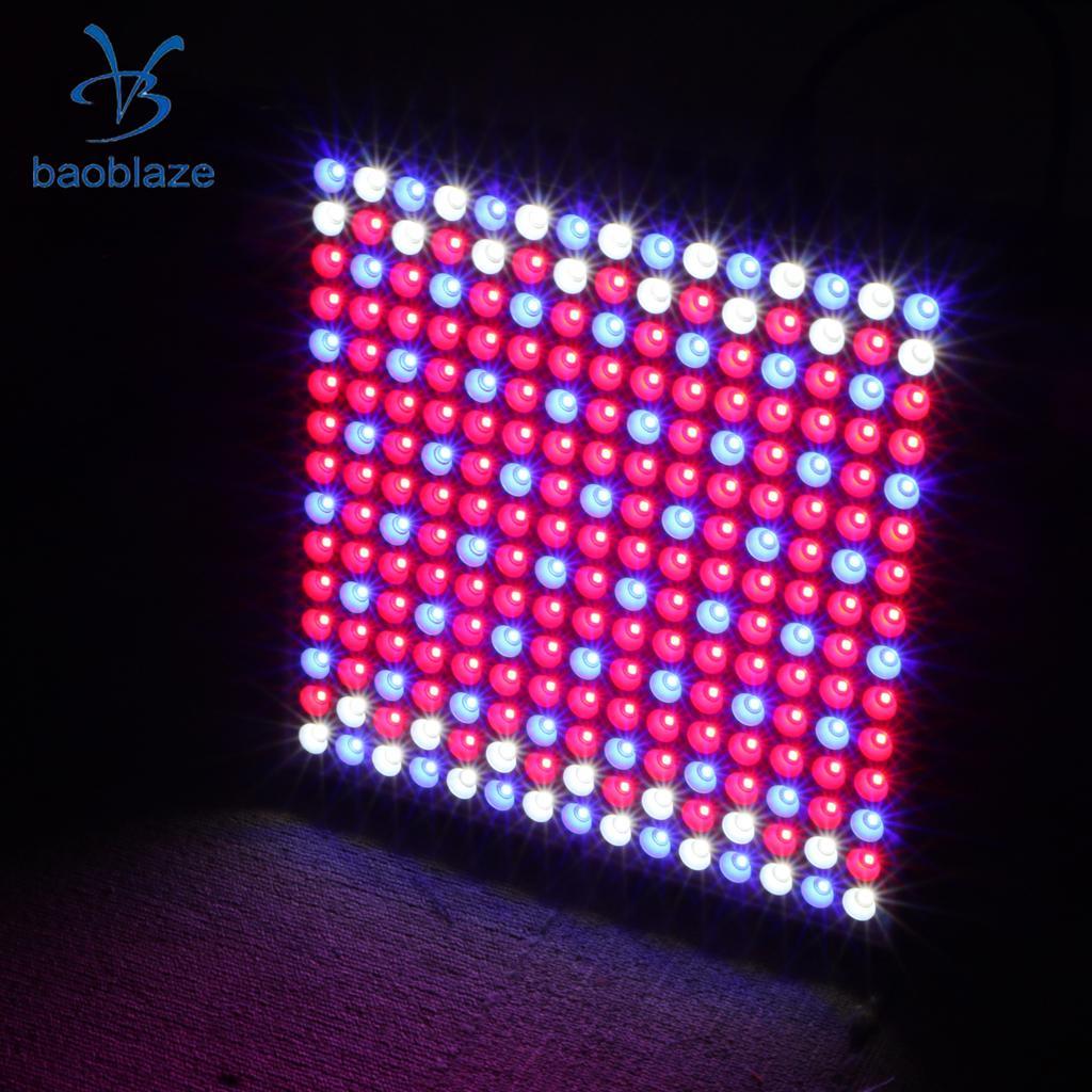 45W LED Grow Light Panel Full Spectrum For Hydroponics Indoor Plant-EU