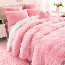 Doble cara manta de piel sintética suave Sherpa mantas camas cubierta  Shaggy colcha cuadros fourrure cobertor a8cbe7240326