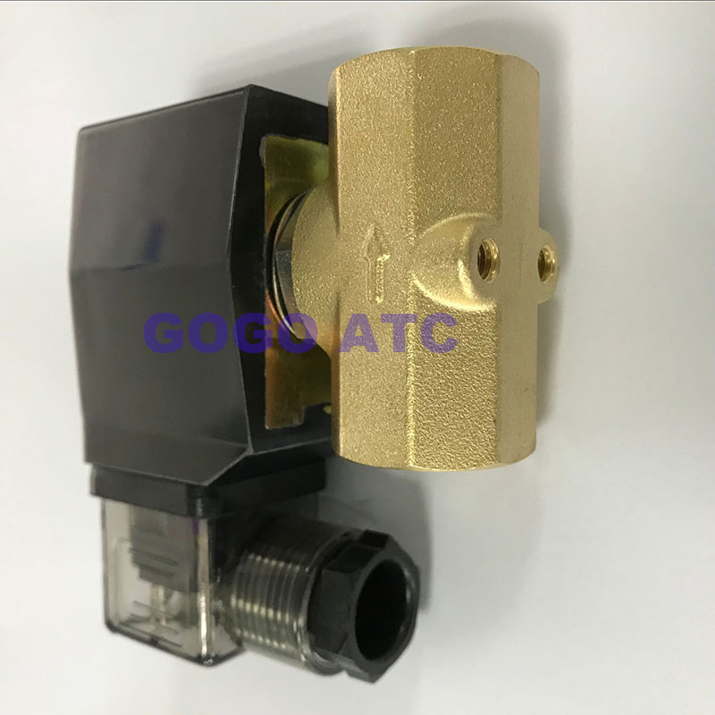 """DC 12V G1//4/"""" 2 Way Electric Solenoid Valve Magnetic Water Inlet Flow Switch S140"""