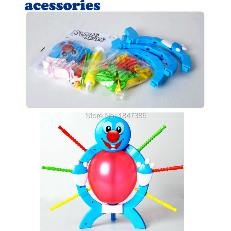 Manual Skill Crazy Party Game Funny Toy Popular Boom Boom Balloon Board Game Educational Toys For Kids