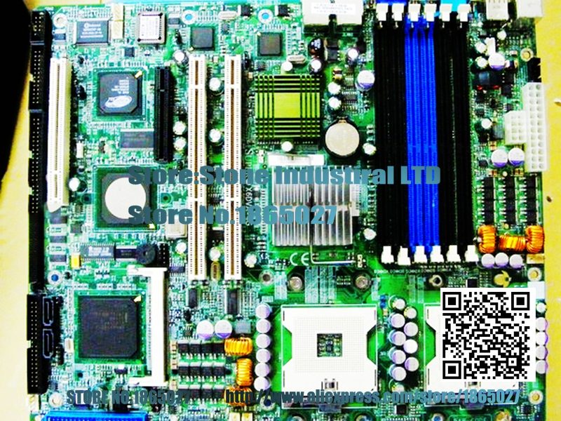 X6DVA-4G E7320 Dual 604 comes with SCSI SATA IDE 800 FSB 100% test good quality