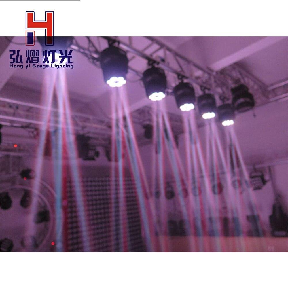 1 teile/los 6 Biene Auge Strahl 6x10 Watt rgbw 4 in 1 led disco club licht bühne dj beleuchtung für DJ Professionellen - 6
