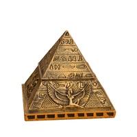 Personnalité antique Egypte Khéops pyramide modèle creative petits ornements décoration de la maison artisanat boîte à bijoux cadeau