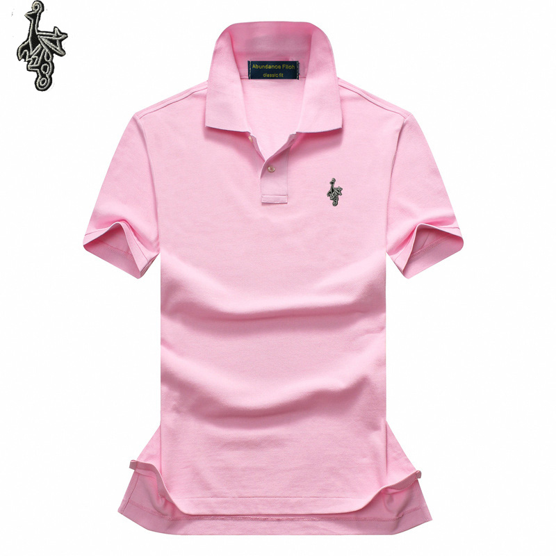 New   Polo   Shirt Men Short sleeve Cotton Casual Breathable Shirt Mens Turn-down collar   Polos   shirts homme Men Brand clothing D001