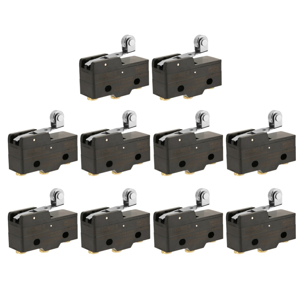 10pcs Z-15GW22-B Momentary Limit Micro Switch Snap Action Switches limit switches scn 1633sc