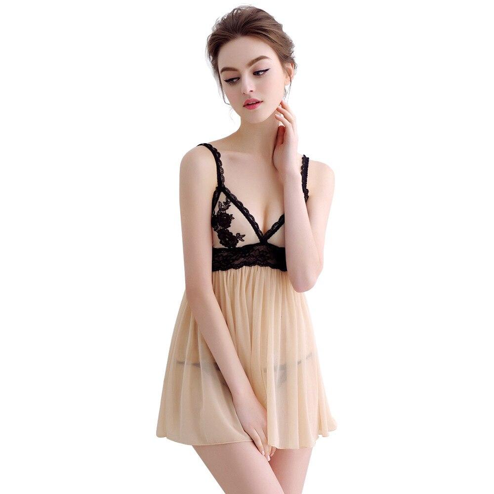 a372803367 Womens satin lace nightdress ladies nighty bridal honeymoon