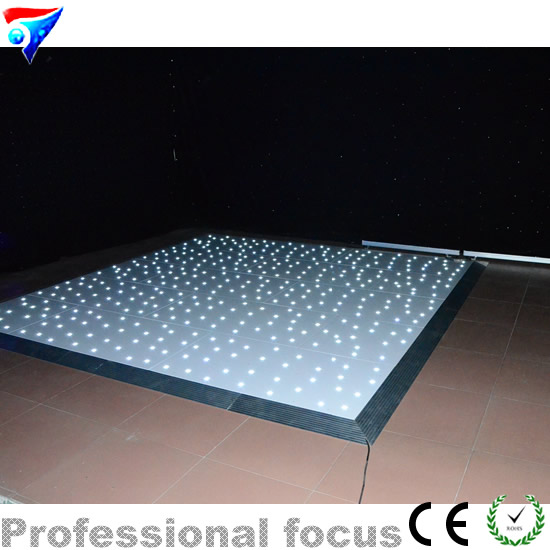 Free shipping 16ft*14ft LED Star Dance Floor for wedding and stage party wedding ft f905