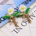 2016 Таиланд, европа и соединенные Штаты В Стиле Барокко моды стрекоза серьги курорт стиль многоэлементный Шарм Серьги 0994