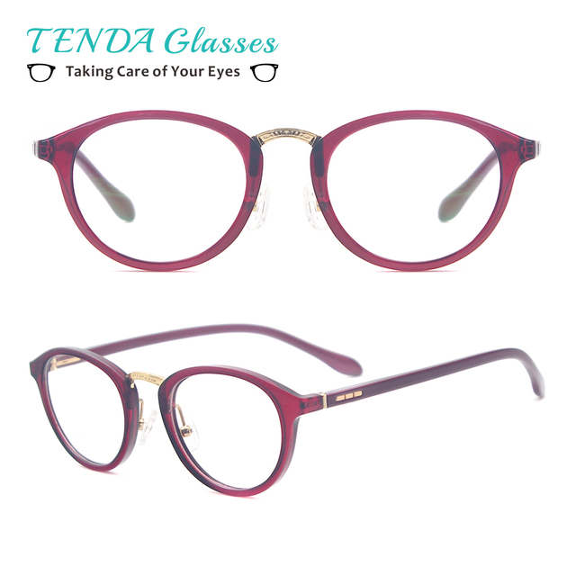 6ec027334f5 Men   Women Vintage Eyeglasses Small Size Round Spectacles For Prescription  Lenses Single Vision   Multifocal