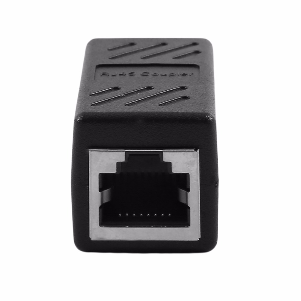 RJ45 Female To Female Network Cable Connector Ethernet Cable Adapter For Mini Dual RJ45 Interfaces Adapter Extender Injector