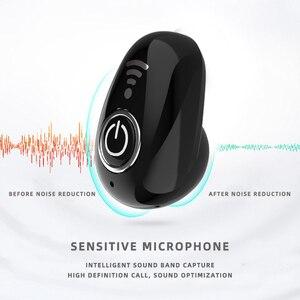 Image 3 - S650 + Mini Bluetooth Écouteur Sans Fil Casque USB In Ear Invisible Écouteurs Mains Libres Casque Stéréo avec Micro pour Téléphone compat