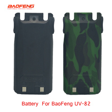 Портативное радио Baofeng UV82 2800mAh зарядное устройство аккумулятор для двухстороннего радио uv 82 walkie talkie литий-ионная батарея