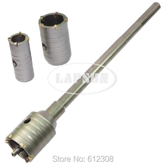 SDS Max Shank 30mm 40mm 50mm set Wall Drill Bit Hole Saw Set Cutter Tool Kit