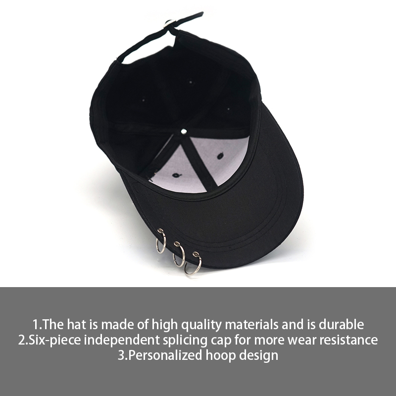 2019 summer New snapback men women Fashion Breathable Solid color simplicity Hat Boys Ring Adjustable Baseball Cap Garros hat in Men 39 s Baseball Caps from Apparel Accessories