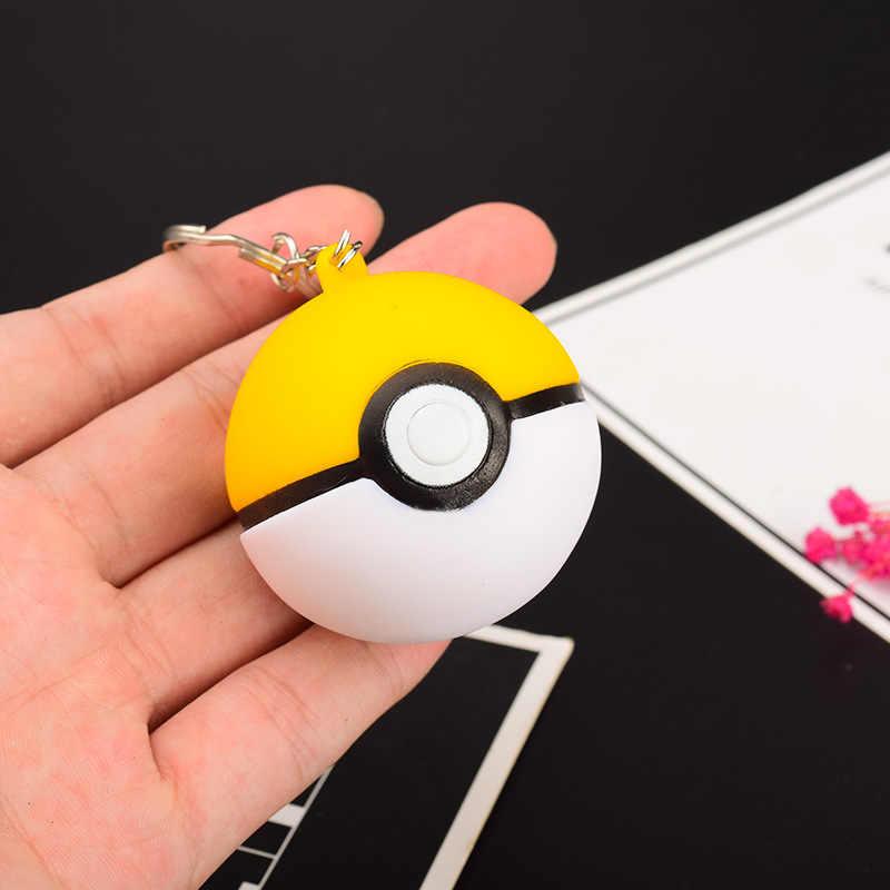 2019 Jogo Saco Chave Anéis Equipe Pokemon Pikachu Pokeball Keychain LEVOU Bola Cosplay Crianças Brinquedos Presentes de Natal Ano Novo