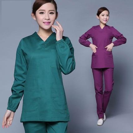 Medical 4 Colors 2018 New Arrival Hotel Waiter Uniform Women Short Sleeved Medical Lab Uniform Beauty Salon Spa Fashion Work Wear Scrubs Reliable Performance