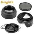 49-77mm Petal Flower  Rubber Lens Hood cap for sony nikon d3200 d5200 d3300 d5100  d5300 d3100 Canon eos 600d 1200d 1100d