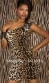 free shipping Lady's Sexy Lingerie wholesale babydoll clubwear dress leopard lingerie manufacturer  Underwear