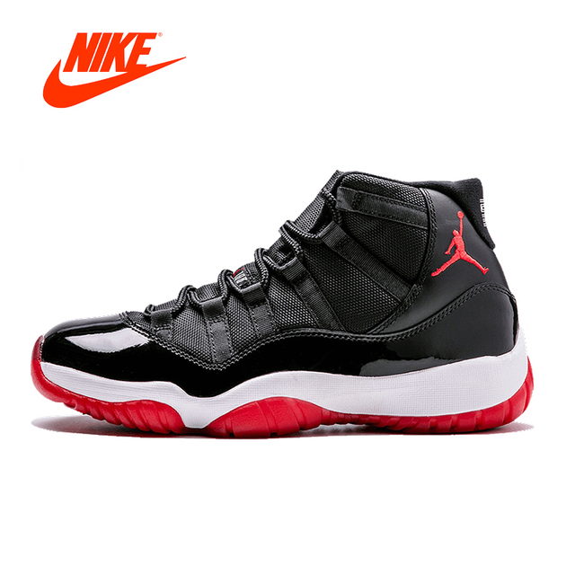 068b71c0cda7 Original New Arrival Authentic Nike Air Jordan 11 Retro Win Like 96 Men s  Basketball Shoes Sport Outdoor Sneakers 378037-010