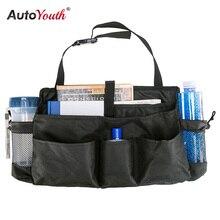 Autoyouth Автокресло Организатор назад мешок хранения Регулируемый travel box карман Высокая Ёмкость многофункциональный Оксфорд Салонные аксессуары