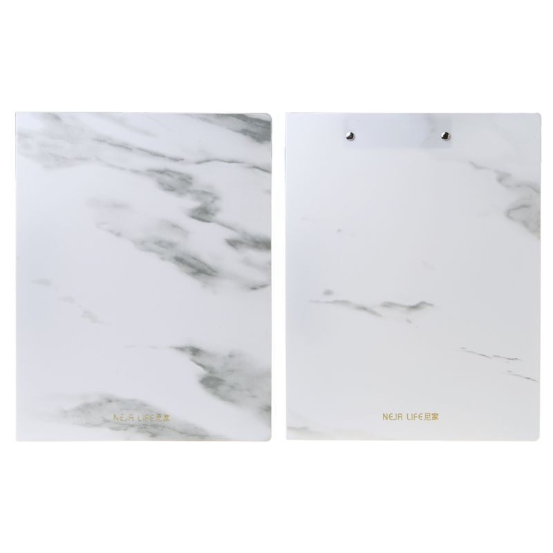 PP A4 Marble Pattern File Information Folder Document Holder Business Briefcase For Office School Students Supplies