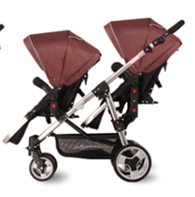 Newstar brand fashion twins baby stroller baby before and after the double wheelbarrow 9 colors export baby pram 2 seats twins stroller double stroller super twins stroller carrier pram buggy leader handcart ems shipping