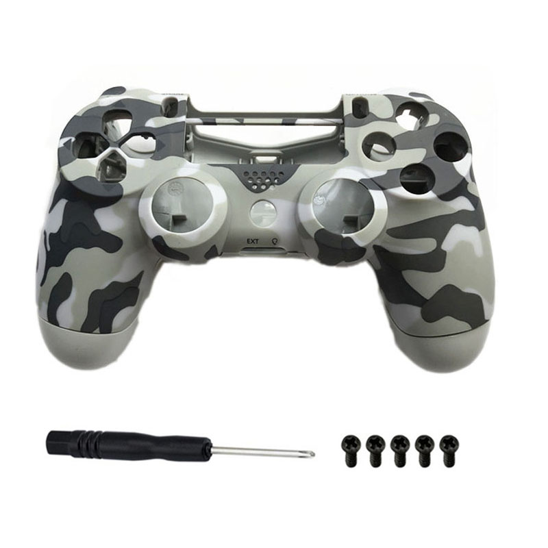 PS4 Pro 4 0 controller Camo shell Replacement Housing Case For Playstation  4 Pro Dualshock 4 Pro JDS 040 JDM 040 Gen 2 PS4 V2