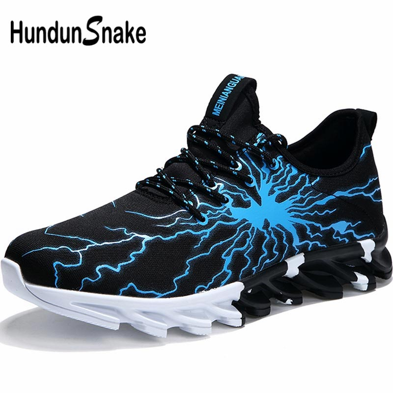 Hundunsnake Outdoor Sporty Man Sneakers Women Running Shoes Tennis Shoes Men's Sports Shoes For Male Sport Summer Black A-187