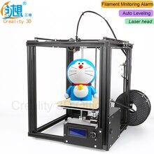 Creality 3D Ender-4 автоматическое выравнивание core-XY 3D-принтеры v-слот Рамки DIY комплекты с нити мониторинга сигнализации potection лазерная головка
