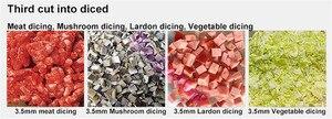 Image 4 - BEIJAMEI 2020 Leistungsstarke 2200W 300 kg/std fleisch schneiden maschine kommerziellen vertikale fleisch slicer cutter maschine preis