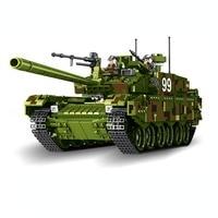 632002 632003 Tank World Military War Weapon Type 99 Tank Building Blocks Sets Models Educational Toys lepin
