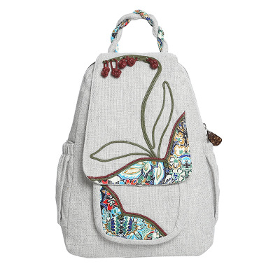 Top Fashion Appliques Cute Women Backpacks!Hot Lady Casual Cover Backruck Multi Floral Appliques Lady Cover backpacks Nice Gifts