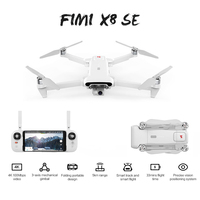 FIMI X8 SE GPS Drones 4K Professinal Quadrocopter Dron with 3 Axis Gimbal 4K Camera Follow Me Auto Return RC Helicopter